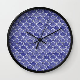 Lovely Pattern IV (Glitter Version) Wall Clock