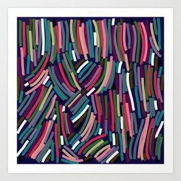 Like Thread Art Print