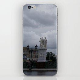 Berlin clouds iPhone Skin