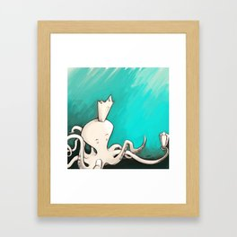 Octoking Framed Art Print