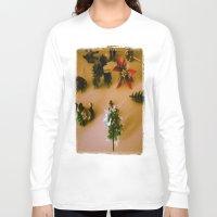 santa Long Sleeve T-shirts featuring santa by gasponce