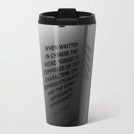 Crisis Travel Mug