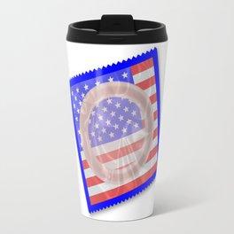 Stars And Stripes Condom Travel Mug