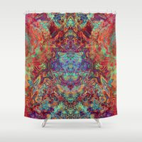 supreme Shower Curtains featuring Supreme by GypsYonic