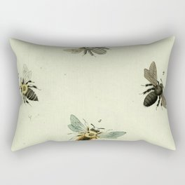 Bee Species Rectangular Pillow