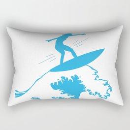 My Great Wave Rectangular Pillow