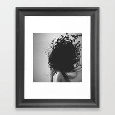 In My Hair by Omerika Framed Art Print
