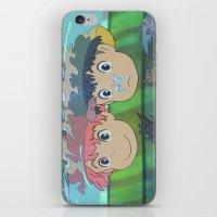 ponyo iPhone & iPod Skins featuring Ponyo by Susan Lewis