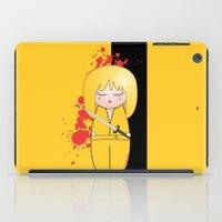 tarantino iPad Cases featuring Kokeshi Beatrix of Kill Bill by Pendientera