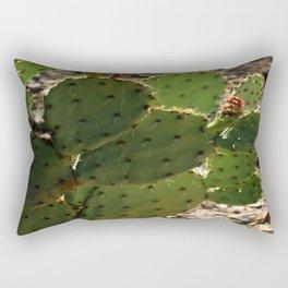 Prickling Pear Cactus Rectangular Pillow