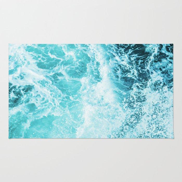 Perfect Sea Waves Rug