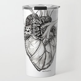 Butterfly Heart Travel Mug