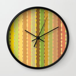 Multi-faceted decorative lines 10 Wall Clock