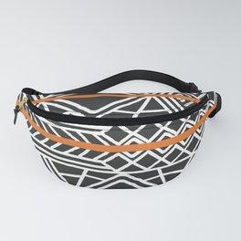 Tribal ethnic geometric pattern 022 Fanny Pack