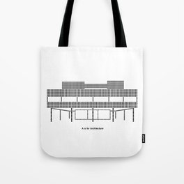 Corbu - A is for Architecture Tote Bag