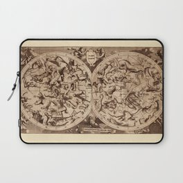 Constellation Map 1734 Laptop Sleeve