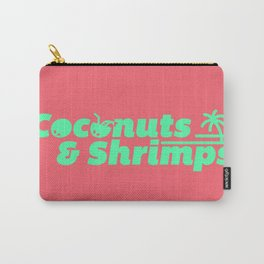 Coconuts & Shrimps Carry-All Pouch
