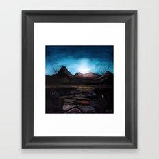 Catnip 40x40 oil on canvas Framed Art Print
