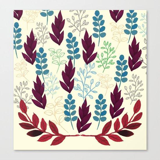 Floral Pattern #5 Canvas Print