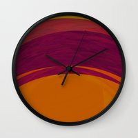bohemian Wall Clocks featuring Bohemian by Orton and Ball
