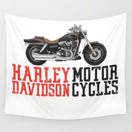 Harley D. Vintage Wall Tapestry