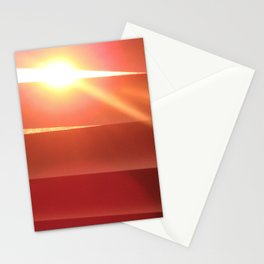 Stalking the sunset Stationery Cards