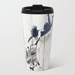 Banksy, Shop Until You Drop Travel Mug