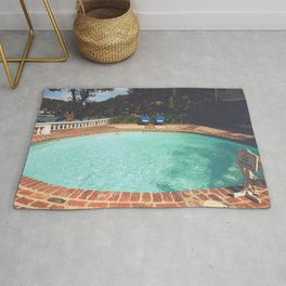 Two Chairs at the Pool Rug
