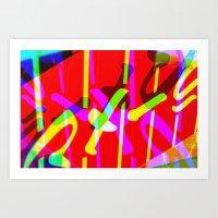 ramen Art Prints featuring Ramen by Arson Capital