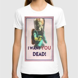 Mars Attacks Want YOU T-shirt