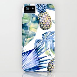 Bahamas - blue iPhone Case