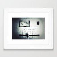 parks and rec Framed Art Prints featuring Rec by QuiXot