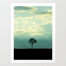 One Tree Art Print