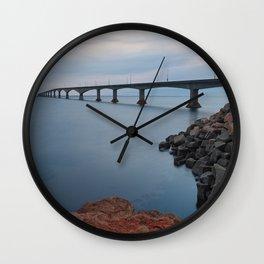 Confederation Twilight Bridge Wall Clock
