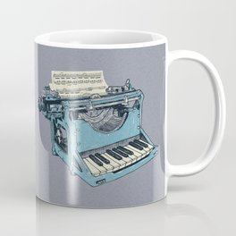 The Composition. Coffee Mug
