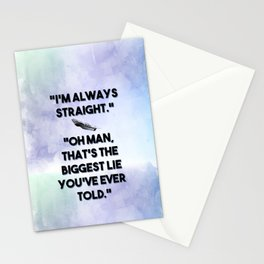 The Raven Cycle - Always Straight Stationery Cards