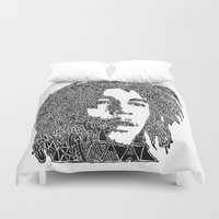 marley Duvet Covers featuring Marley by Travis Poston
