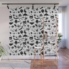 Ghibli creatures Wall Mural