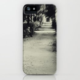 Time Waits For Nobody iPhone Case
