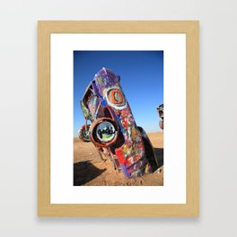 Route 66 - Cadillac Ranch 2012 Framed Art Print