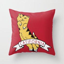 Catifornia Throw Pillow
