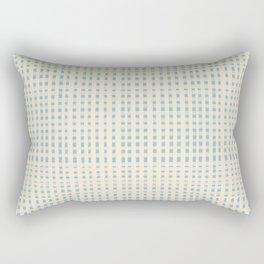 Vintage Gingham Rectangular Pillow