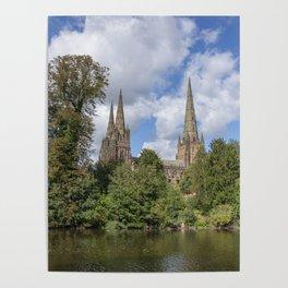 Lichfield spires Poster