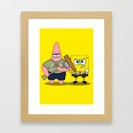 Sponge of the Dead Framed Art Print