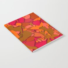red camouflage Notebook
