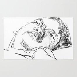 Little sleeping prince Rug