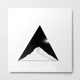 Light space Metal Print