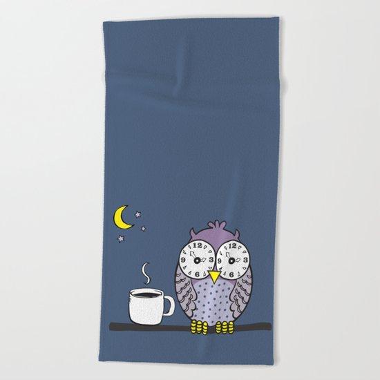 Insomnia Beach Towel