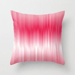 Dip Dye: Raspberry Creamsicle Throw Pillow
