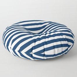 Navy-White ( Stripe Collection ) Floor Pillow